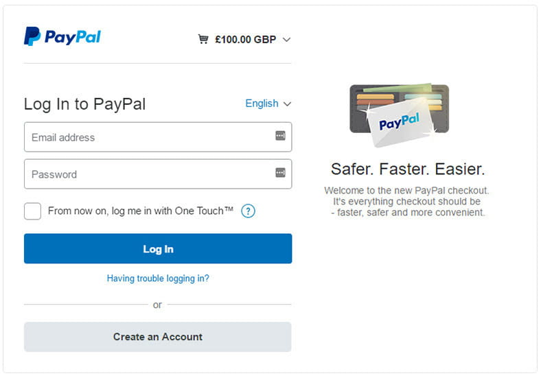 PayPal Casino Sites Casinos with PayPal Deposit