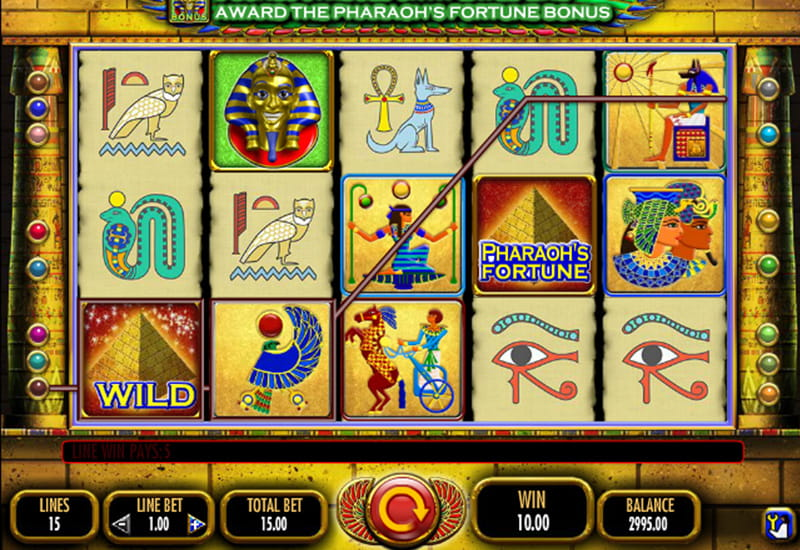 Play Pharaohs Fortune online with no registration required!