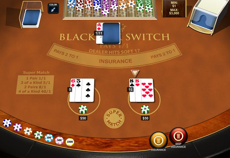 how to play casino blackjack online for free