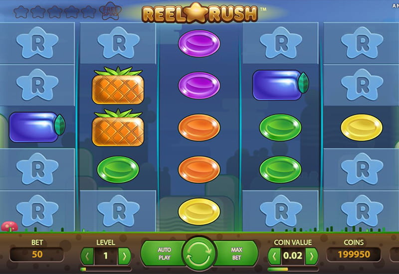 Reel Rush Slot Review Rtp Rules Symbols Winning Combinations
