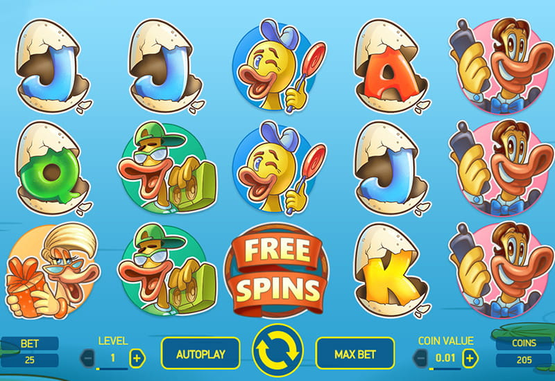 Scruffy Duck Slot Review – A Relaxing Game with Many Bonus