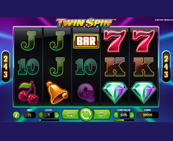twin spin slot review - 2